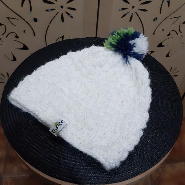 Gorro tricô pompom