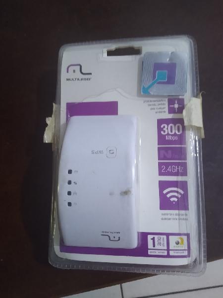 Repetidor de sinal wi-fi novo