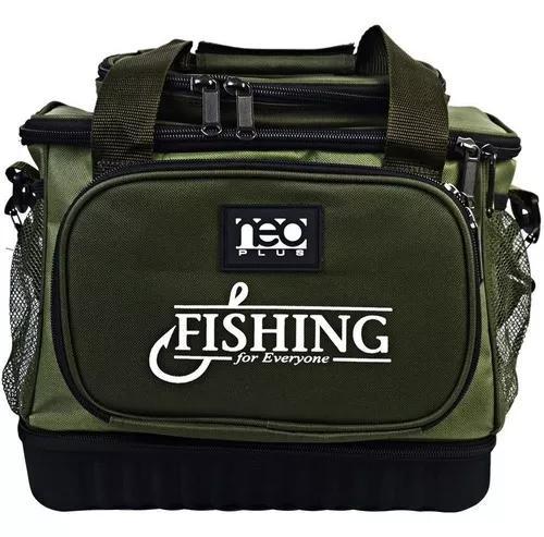 Bolsa mochila equipam pesca marine sports neo plus verde