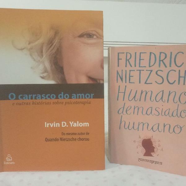 Dois livros ótimos: humano, demasiado humano e o carrasco