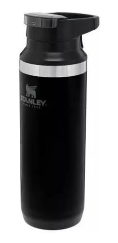 Garrafa térmica mug gelada stanley switchback black 473ml