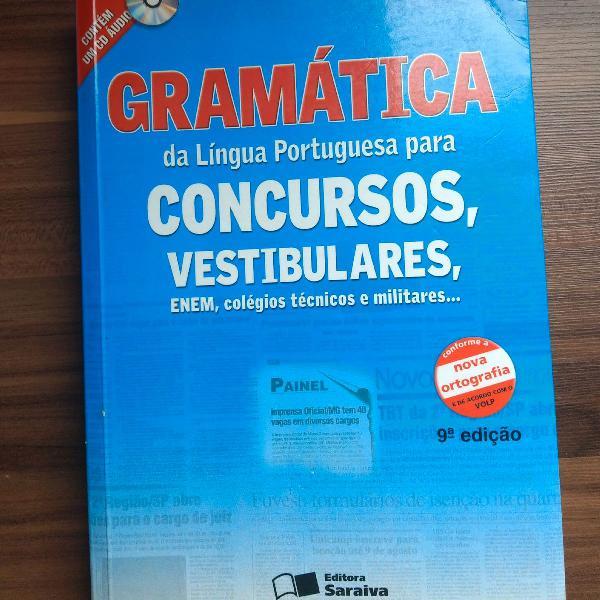 Gramática da língua portuguesa para concursos