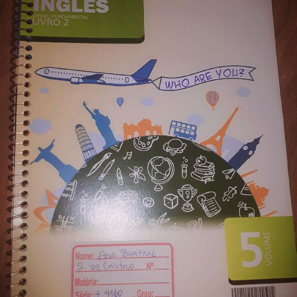 Inglês ensino fundamental livro 2, 6º ano