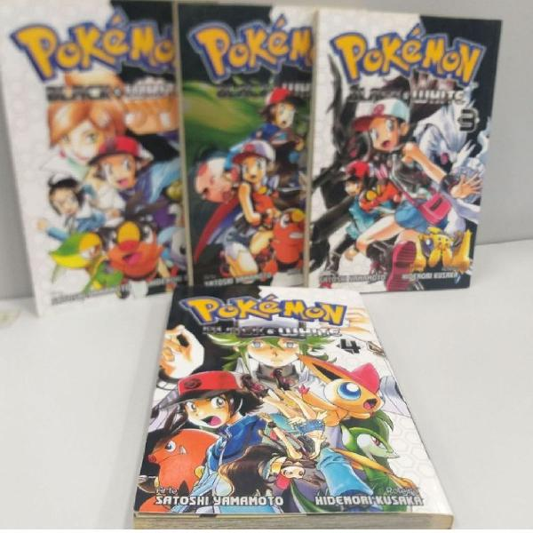 Kit mangas pokémon