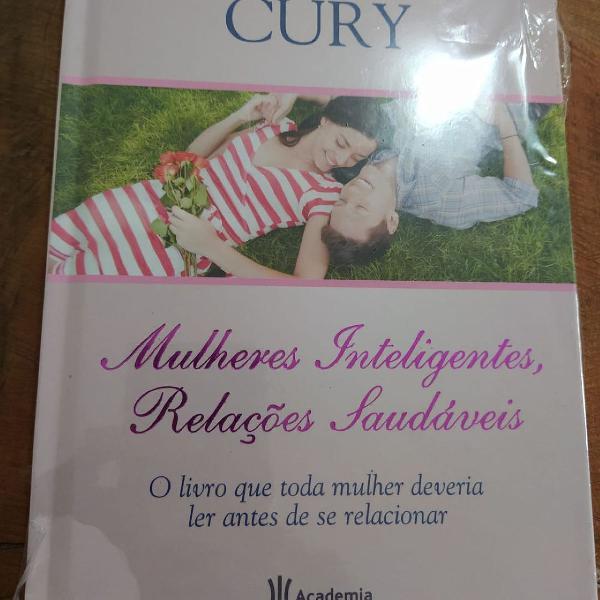 Livro capa dura: mulheres inteligentes, relações