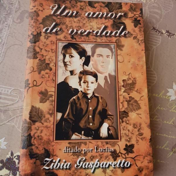 Livro - zibia gasparetto - um amor de verdade