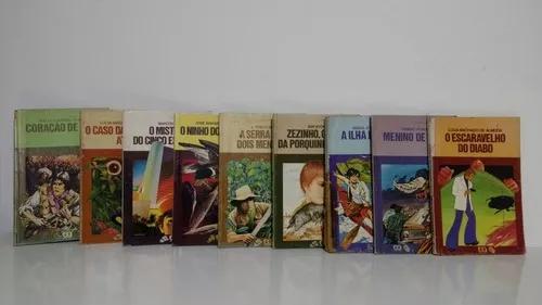 Lote 9 livros infanto juvenil coleção vaga-lume ed. ática