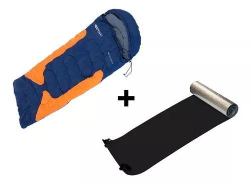 Saco de dormir camping -1,5ºc à -3,5°c freedom + isolante