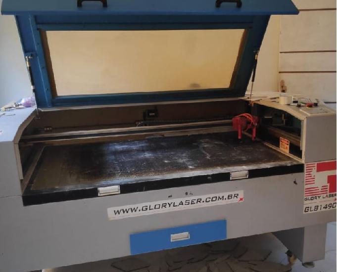 Vendo máquina de corte e gravação a laser modelo glc 1490