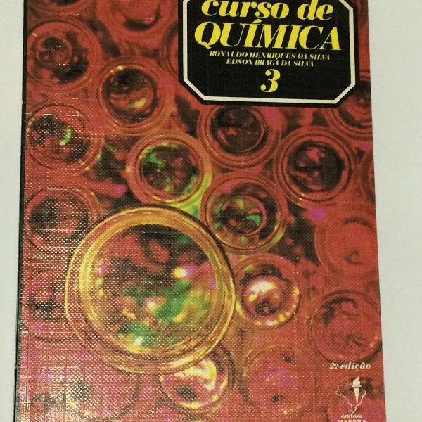 Curso de química - vol. 3 - 2ª edição