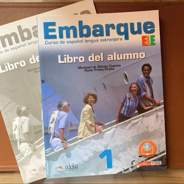 Embarque - curso de espanhol