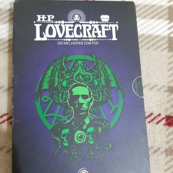 livro Lovecraft contos