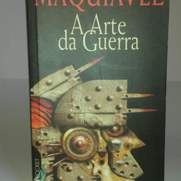 Livro: a arte da guerra - maquiavel