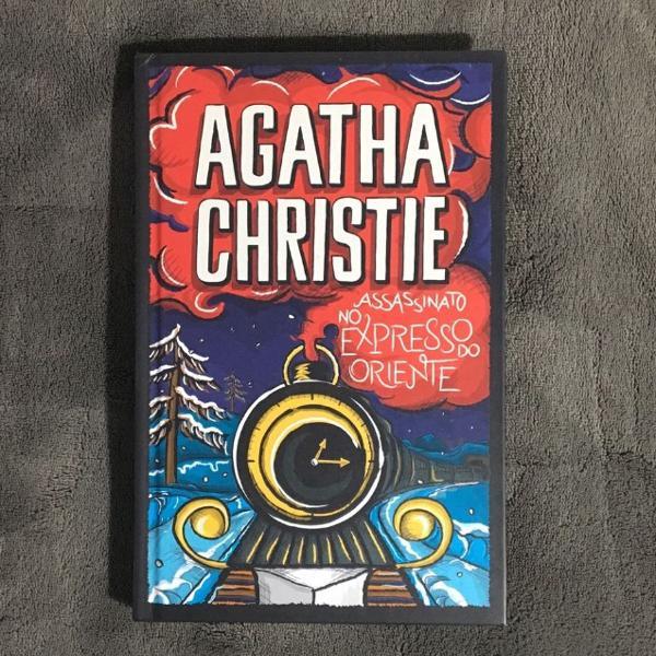 Livro agatha christie assassinato no expresso polar