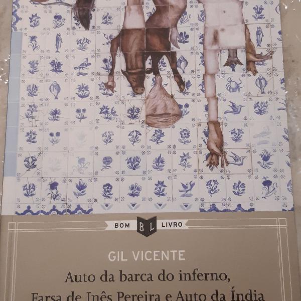 livro auto da barca do inferno, farsa de Inês Pereira e
