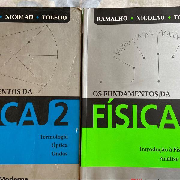 Livro de física ramalho volumes 2 e 3