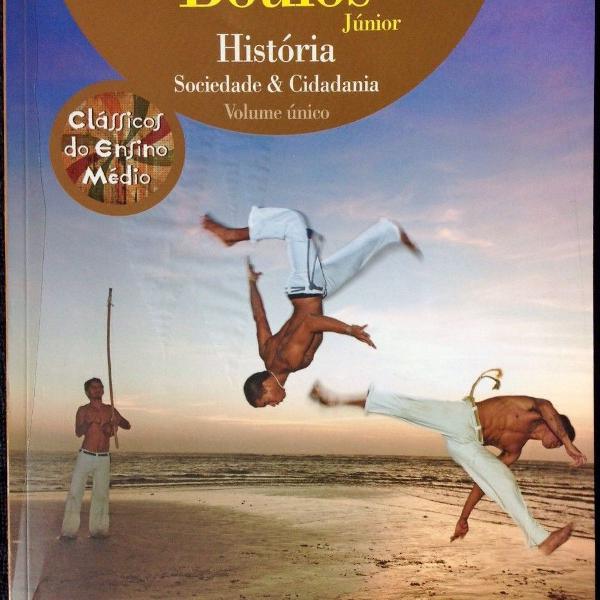 Livro história - sociedade e cidadania volume único