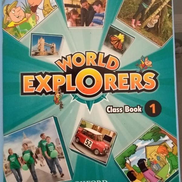 Livro livro world explorers