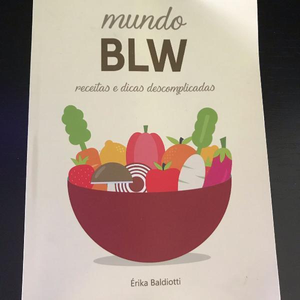 Livro mundo blw