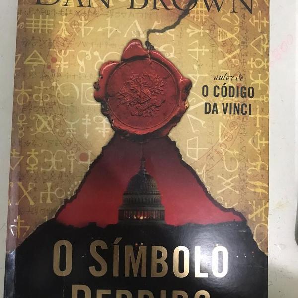 Livro o símbolo perdido - dan brown