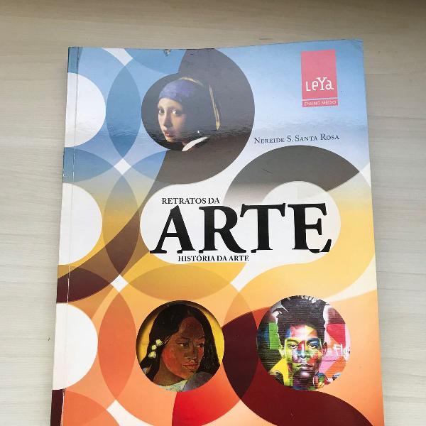 Livro retratos da arte:história da arte-editora leya