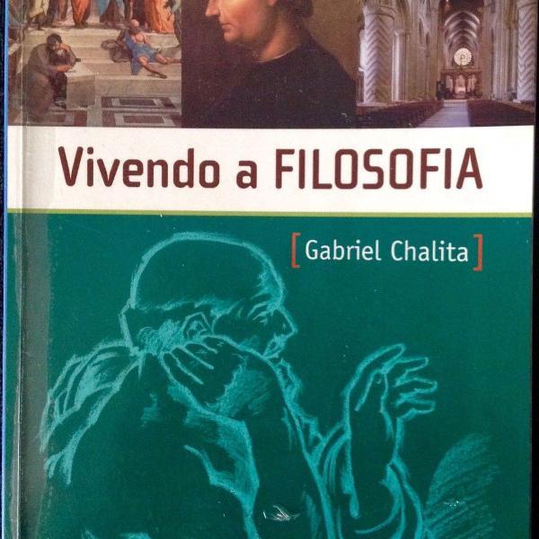 Livro vivendo a filosofia