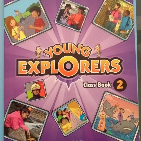Livro young explorers