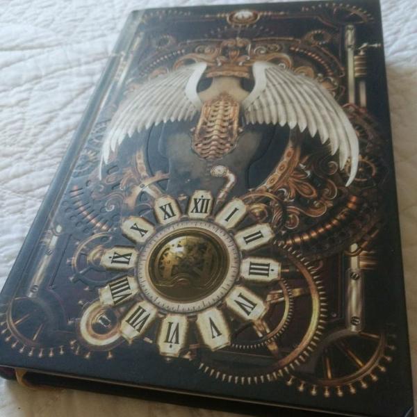 O circo mecânico - dark side books - capa dura