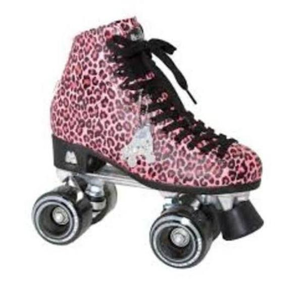 Patins moxi roller skates rosa número 36