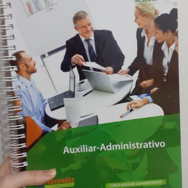 Apostila curso auxiliar-administrativo