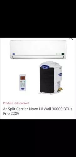 Ar condicionado carrier 30.000btus