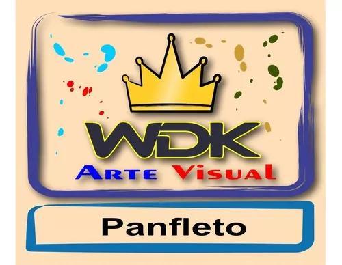 Criação de arte (panfleto/logotipo)- envio por e-mail