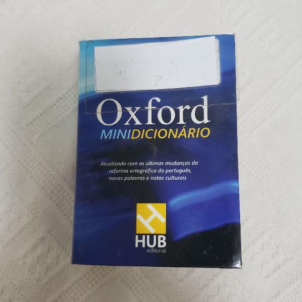 Dicionário mini oxford