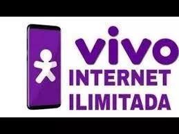 Internet móvel ilimitada mensal. sinal vivo