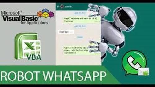Planilha vba para disparo de mensagens whats app marketing