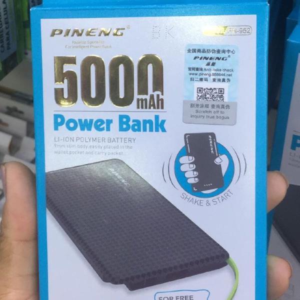 Power bank 5.000 carregador portátil pineng original