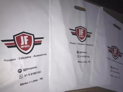 Sacolas personalizadas com sua logo marca impressa
