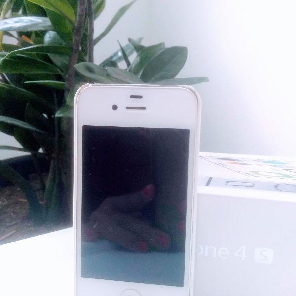 Apple iphone 4s 8gb branco desbloqueado original