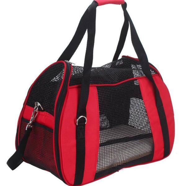 Bolsa para transporte em nylon atenas n°2 vermelha m são