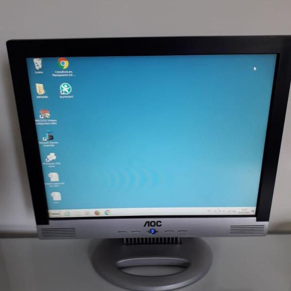Computador + monitor + teclado gamer + mouse