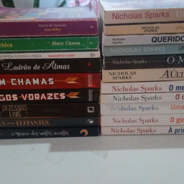 Kits de livros diversos