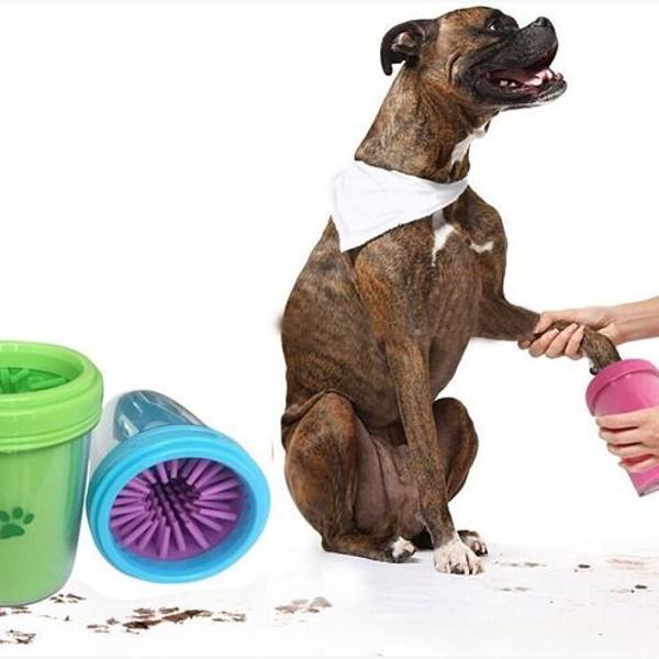 Lava patas, limpador e higienizador de patas para cães