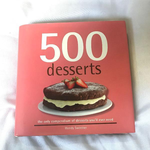 Livro: 500 desserts