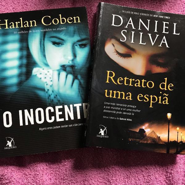 Livro : o inocente e retrato de uma espiã
