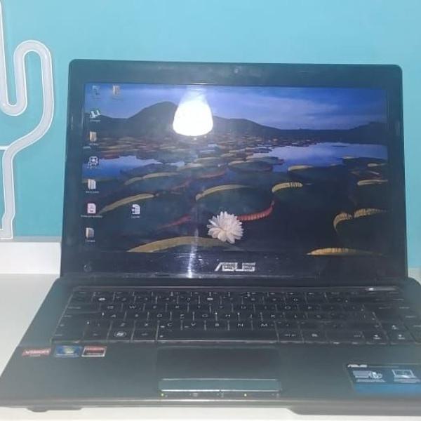 Notebook asus k43u - 14'' dual core c50 ram2gb/500gb