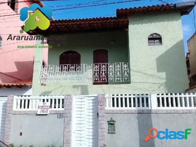 Excelente casa localizada no bairro vila capri araruama via asfaltada