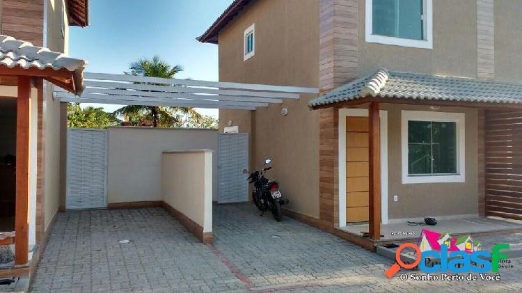 Casa duplex linda a venda, 2 dormitórios em itaipuaçú ! *oportunidade*