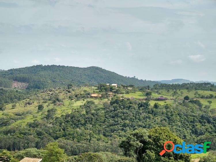 Terreno alto com vista - condomínio rural - joaquim egídio