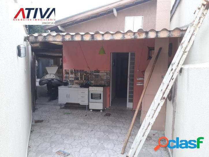 BOA CASA- PQ, INDUSTRIAL- PERTO DETRAN, 2 DORM, 2 WCs, 2 VAGAS COBERTAS. 1