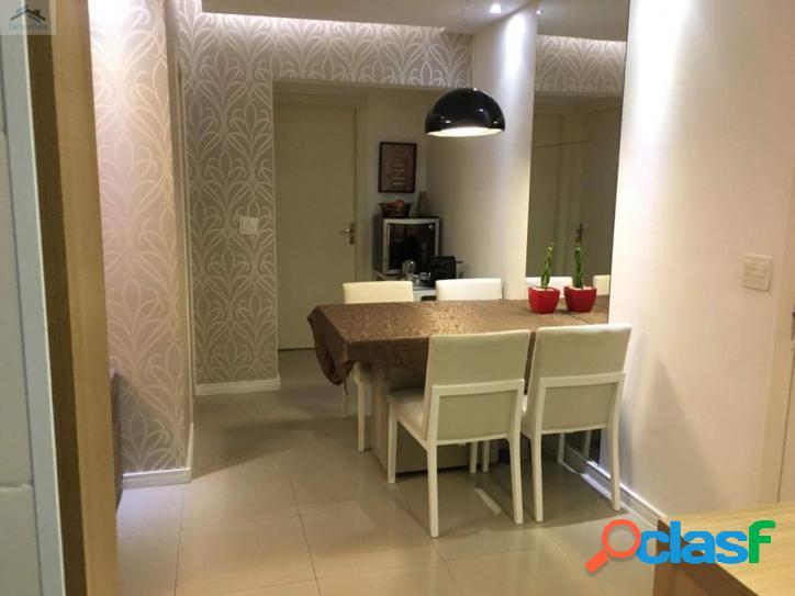 Lindo e moderno apartamento 69m² útil, andar alto, belíssima vista,gonzaga